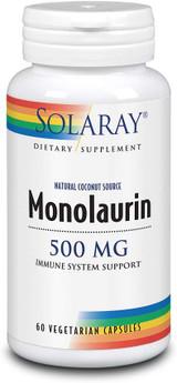 Solaray Monolaurin 500 mg - #60 Vegetarian capsules