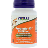 NOW Probiotic-10 25 Billion - #50 Veggie Caps
