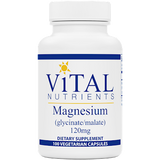 Vital Nutrients Magnesium (Glyc./Malate) 120 mg 100 caps