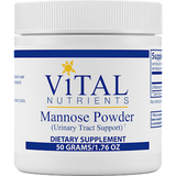 VITAL NUTRIENTS MANNOSE POWDER 50 GRAMS (1.76 OZ)