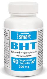 SuperSmart BHT 300 mg #90 Capsules