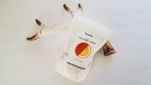 TotumVos Collagen Chews - Lemon Turmeric