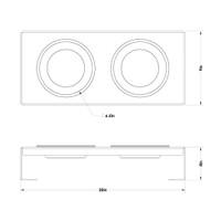 clear-acrylic-raised-dog-feeder-schematic