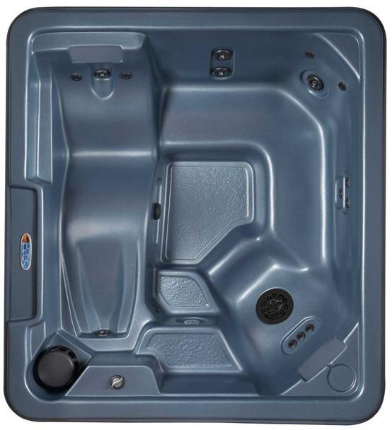 Stargazer hot tub top view.