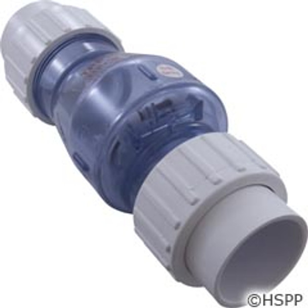 "Check Valve Magic Plastics Smart Check 1-1/2""Union 1/2 Lb"