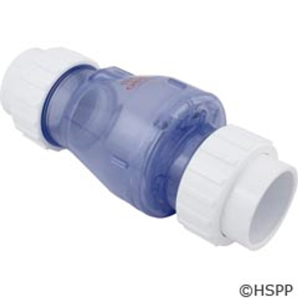 "Check Valve Magic Plastics Smart Check 2""Union 1/2 Lb Wa"