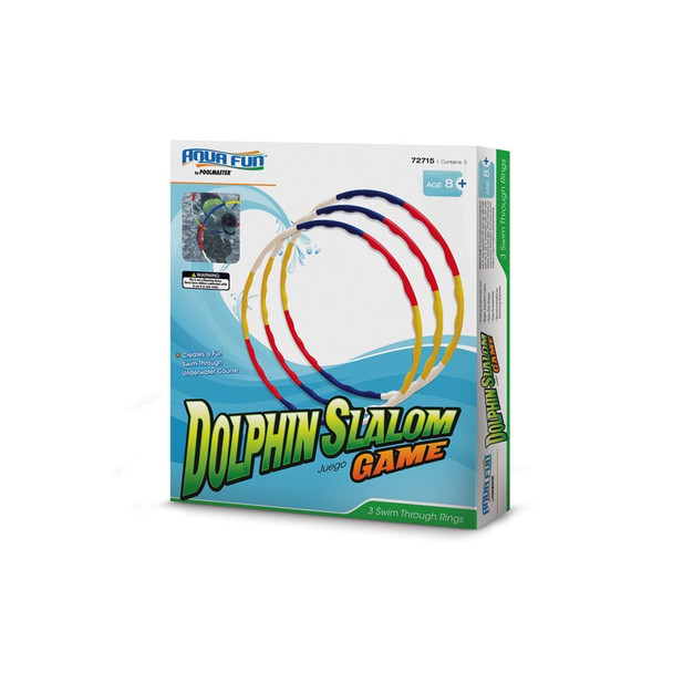 Slalom game for pools