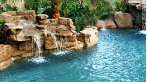 waterfall features