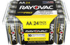 Rayovac Ultra Pro AL-AA-24 1.5V Alkaline Button Top Batteries - 24 Pack (ALAA-24PPJ)