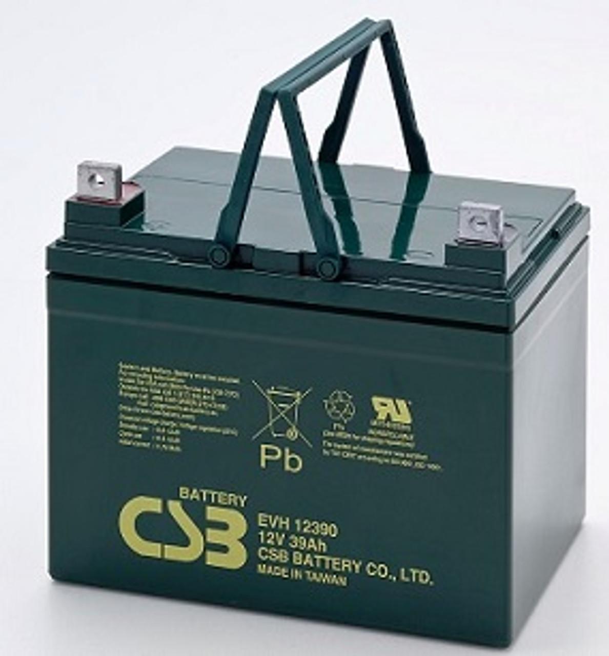 CSB EVH12390 12V 39Ah Battery SLA Sealed Lead Acid