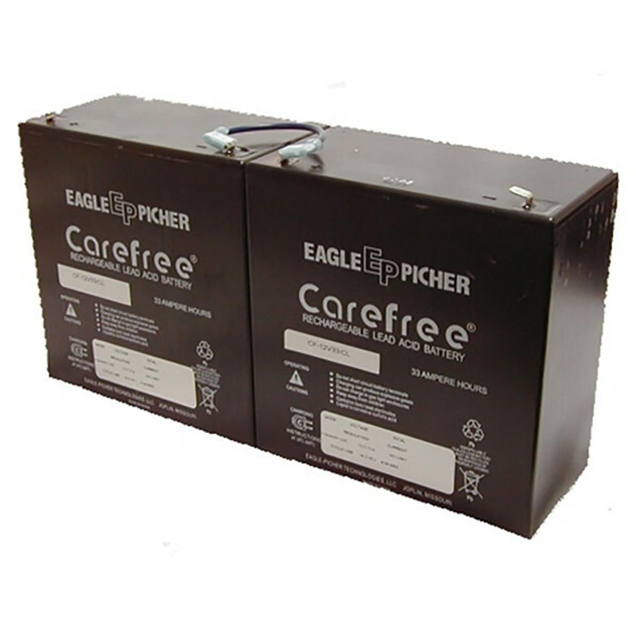 Simplex 2001 Fire Alarm Control Panel Battery 12V 33Ah
