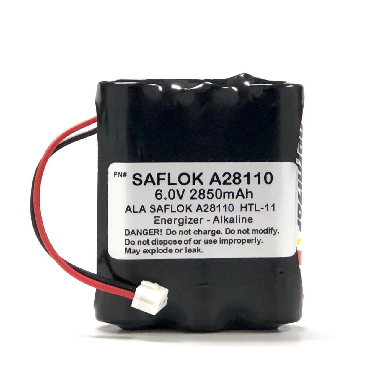 Saflok A28110 Door Lock Batteries
