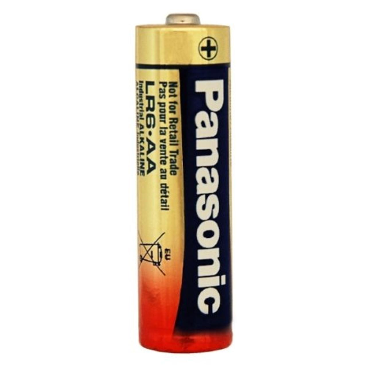 Panasonic LR6XWA/B AA Industrial Battery