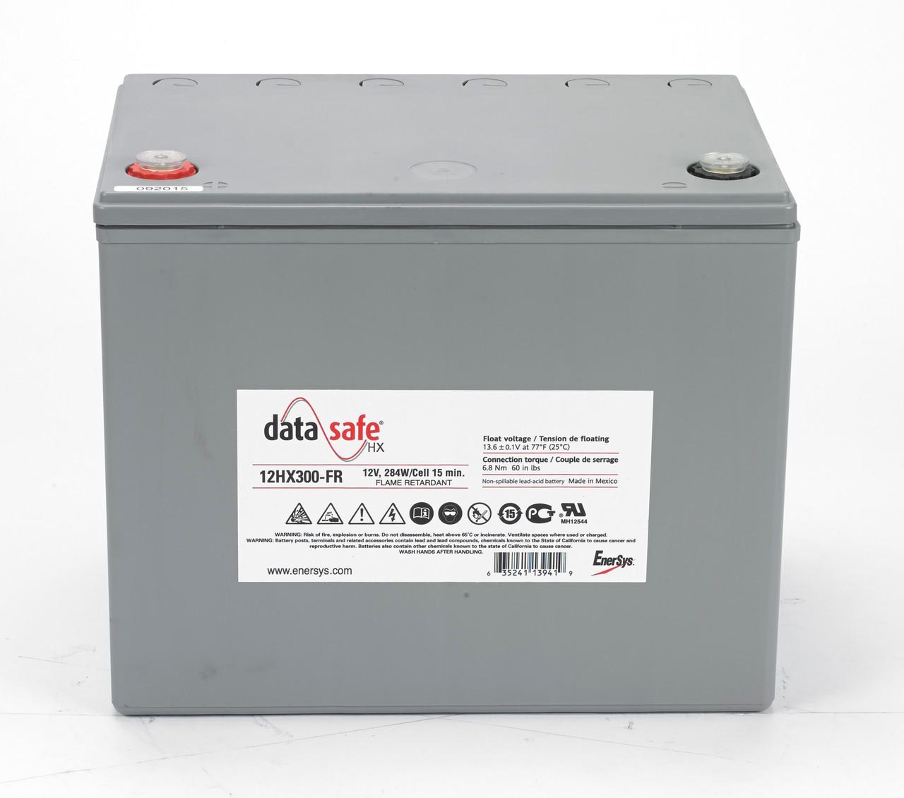 DataSafe 12HX300-FR 12V 70Ah 284W Enersys