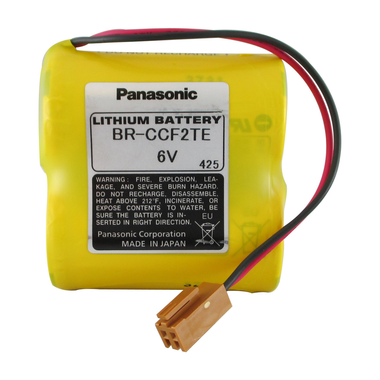 Aftermarket Replacement for BR-CCF2TE , BR-CCF2TH Fanuc PLC Battery