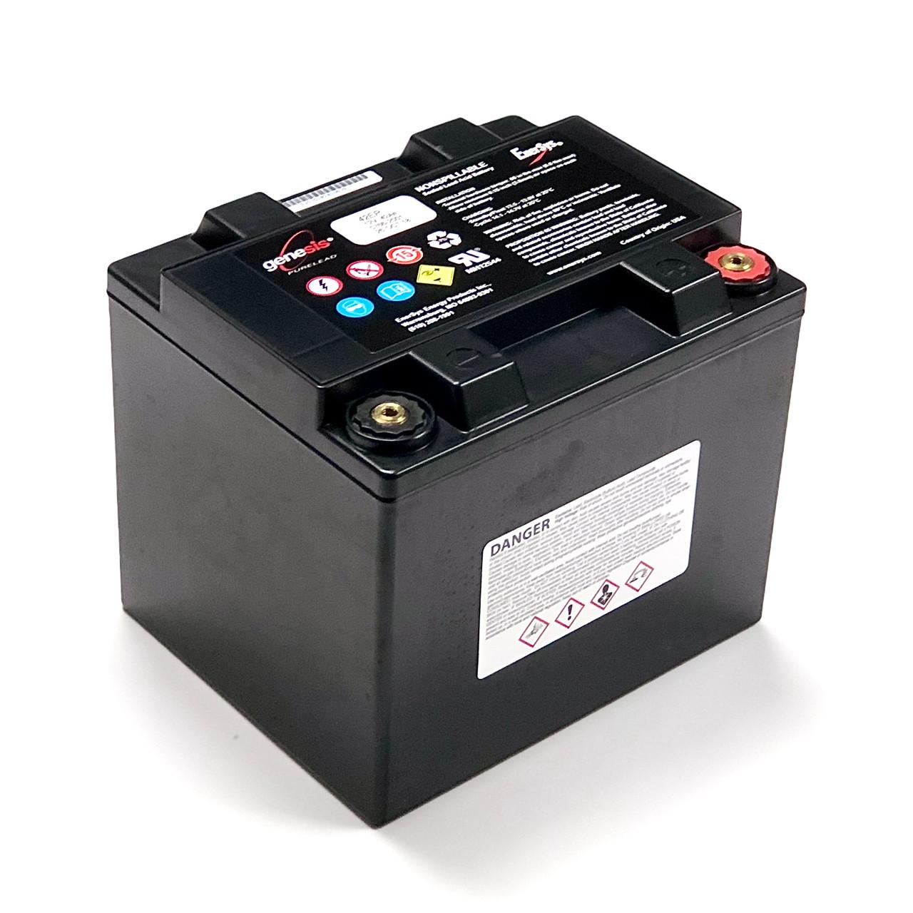 G12V42AH10EP 12V 42AH  #0766-2001 G42EP Genesis Battery