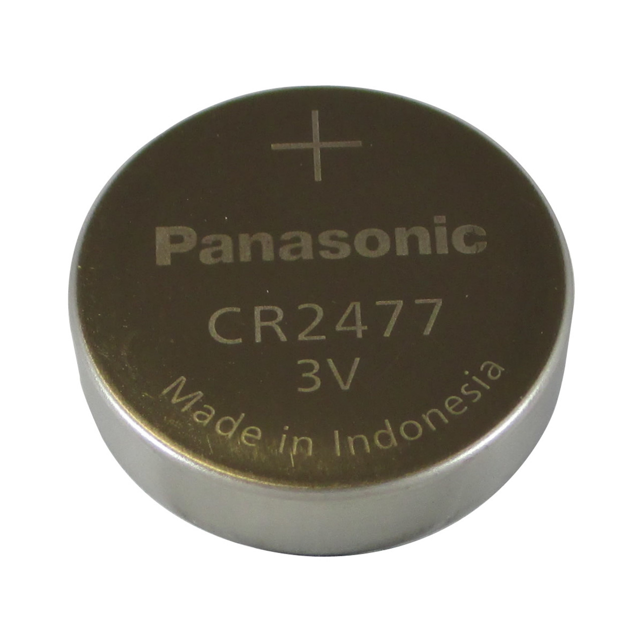 Panasonic CR2477 Lithium Battery - 3 Volt 1000mAh