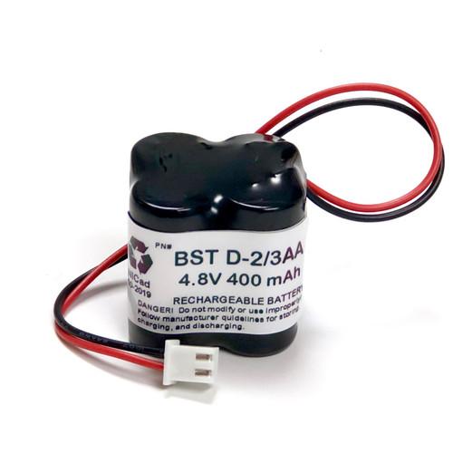 BST Battery D-2/3AA 400mAH BST Battery