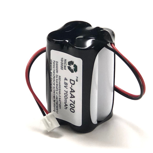 Aftermarket Replacement for BST Battery  D-AA 700mAH 4.8 Volt