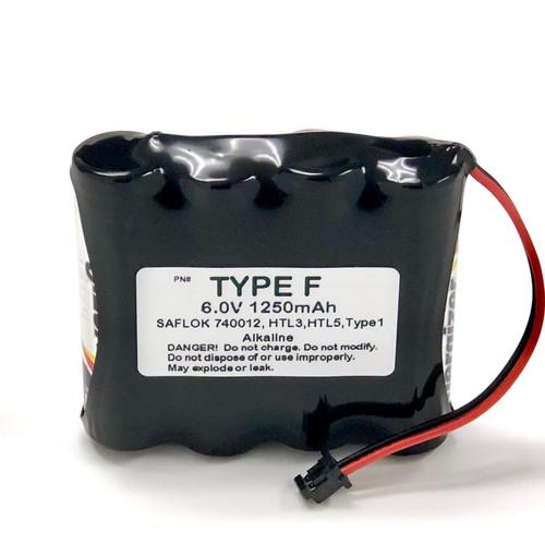 Saflok HTL-3, HTL-5, 885008, S7400-12, ELS5, 50800LB  Door Lock Batteries