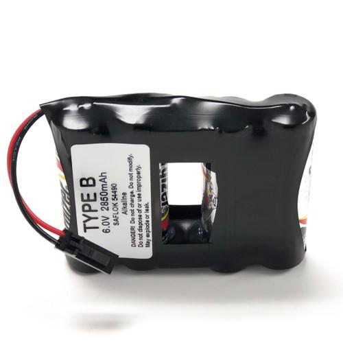 Saflok 54490 Door Lock Battery Pack S54490 SL2500 DL2 Ala Type B