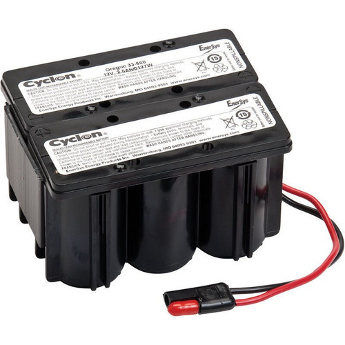 Toro 55-7520 Lawn Mower Battery Cyclon 12v 2.5ah Rechargeable