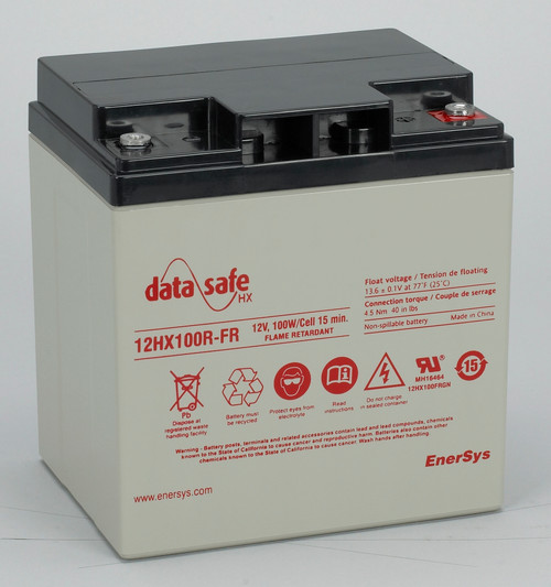 Data Safe 12HX100FR Battery 12V 28AH 100W ENERSYS