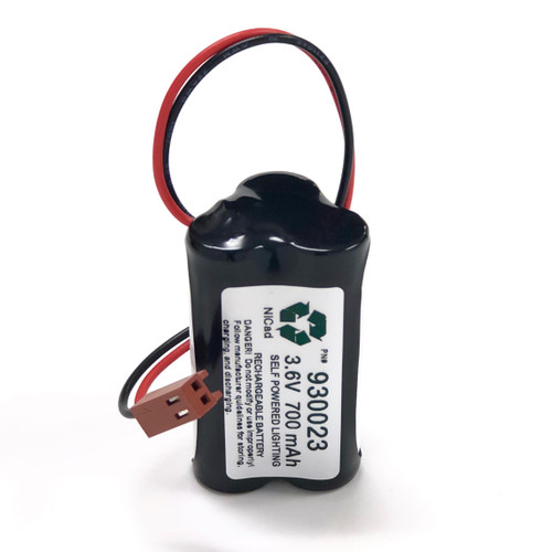 Self-Power Lighting 930023 3.6V 700mAh Replacement Battery
