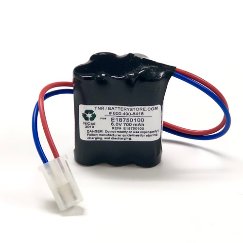 Aftermarket Replacement for Prescolite E1875-01-00 Battery