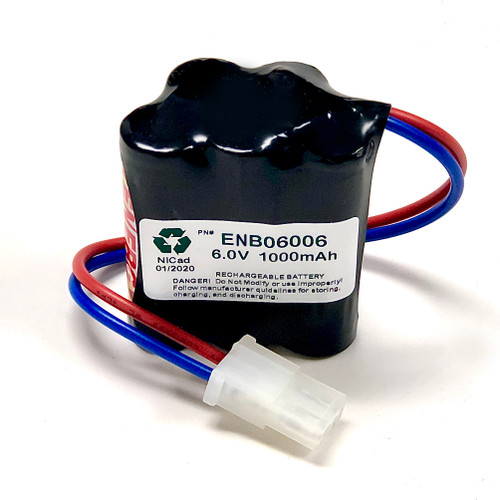 Aftermarket Replacement for Prescolite ENB06006 Battery