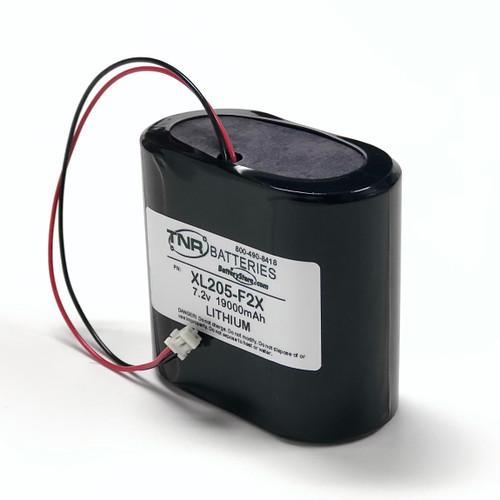 Seametrics AG2000 Flowmeter XL-205F/2S1P 7.2V 1900mAh Lithium Replacement Battery