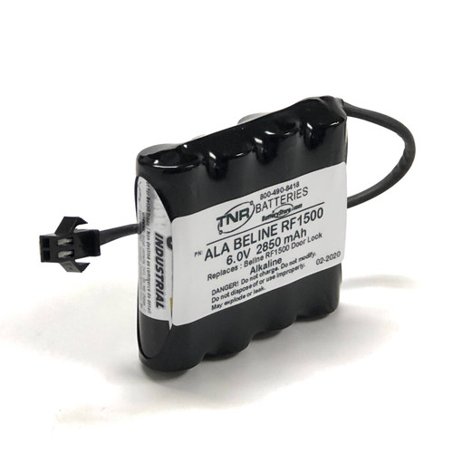 Aftermarket Replacement Battery RF1500 Door Lock Battery
