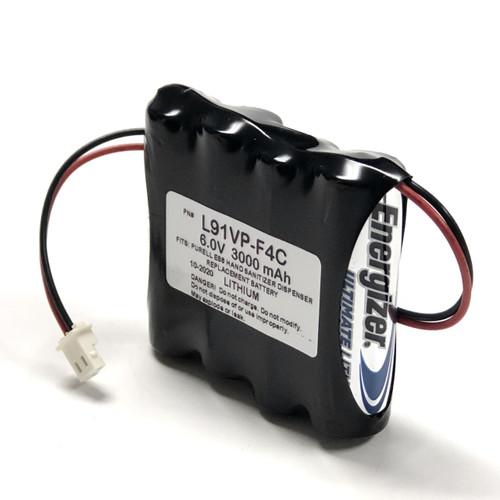 Aftermarket Replacement for ES8 Hand Sanitizer Dispenser Longer Lasting Lithium Battery