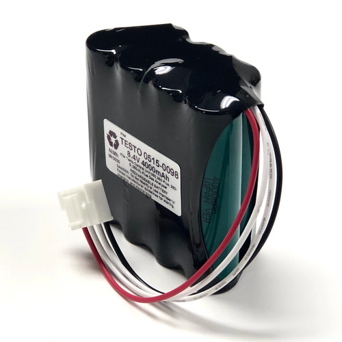 Aftermarket Replacement for 0515-0098 350, 350 Plus, 350-S, 350-XL Flue Gas Analyser Replacement Battery