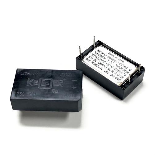 Eagle Picher LTC-7P 3.5V 750mah Keeper Battery