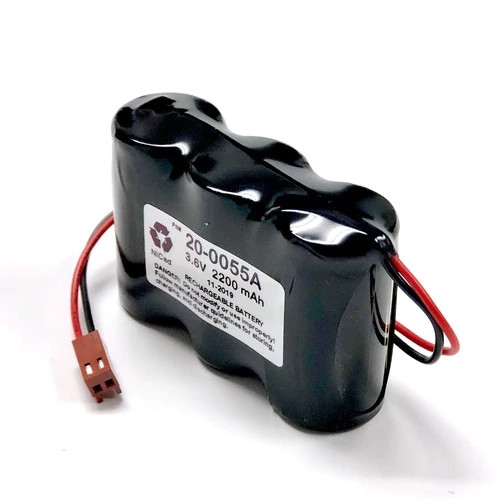 Aftermarket Replacement for Saft 412659-010 Battery Emergency Lighting 6.0V 2.2Ah NiCd