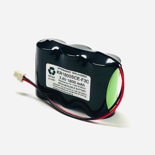 Aftermarket Replacement for Saft B15CS03 Emergi-Lite Emergency Light Battery
