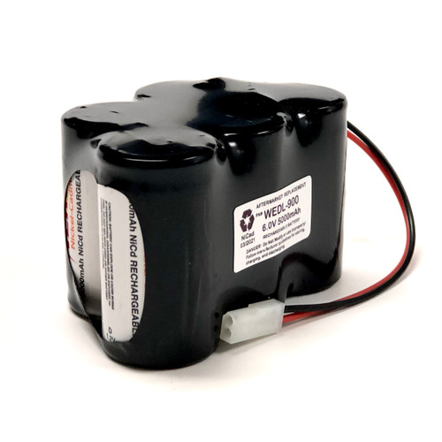 Aftermarket Replacement for Jewoo WEDL-900 Emergency Lighting Battery