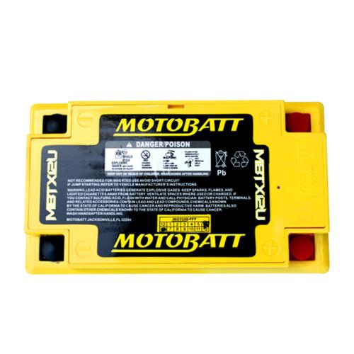 MBTX12U MotoBatt Sealed AGM QuadFlex Battery 12V 14AH
