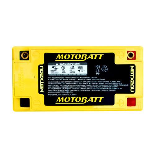 MBTX20U MotoBatt Sealed AGM QuadFlex Battery 12V 21AH