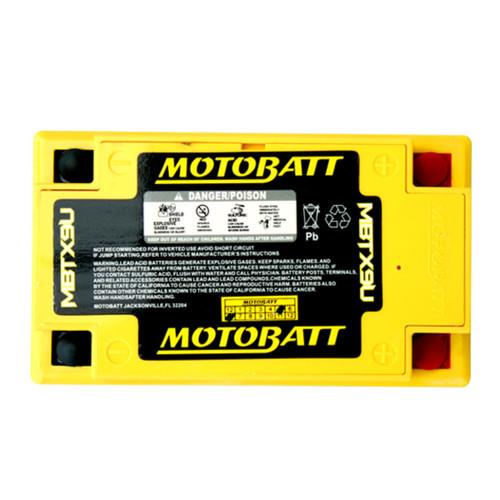 MBTX9U MotoBatt Sealed AGM QuadFlex Battery 12V 10.5AH