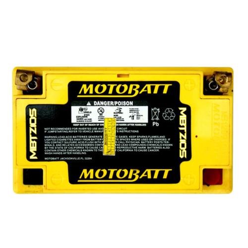 MBTZ10S  MotoBatt Sealed AGM QuadFlex Battery 12V 8.6AH