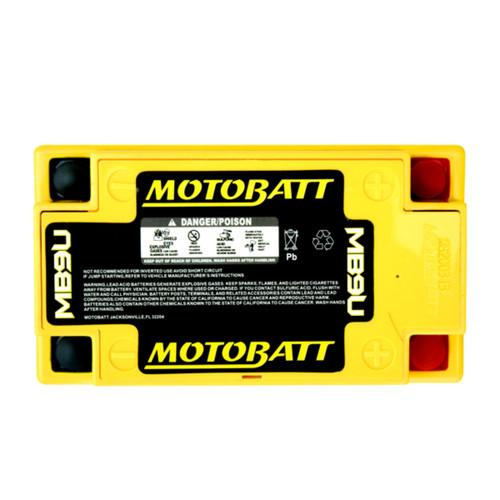 MB9U MotoBatt Sealed AGM QuadFlex Battery 12V 11AH