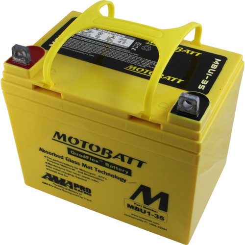 MBU1-35 12V 35AH MotoBatt  Power Sport & Tractor Battery