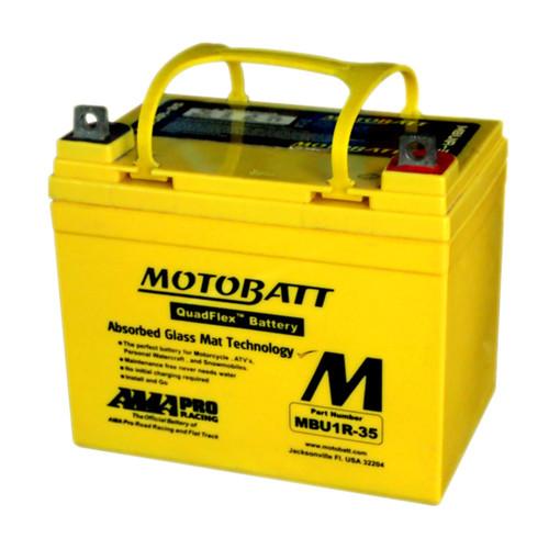 MBU1R-35 12V 35AH MotoBatt  Power Sport & Tractor Battery