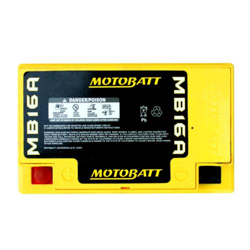 MB16A  Motobatt 12V 19AH AGM Battery