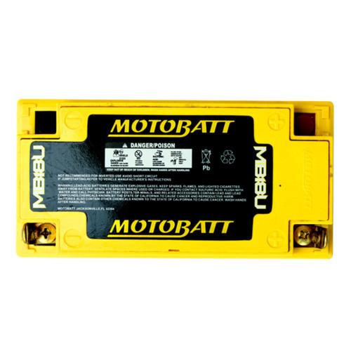 MB18U  Motobatt 12V 250CCA AGM Battery
