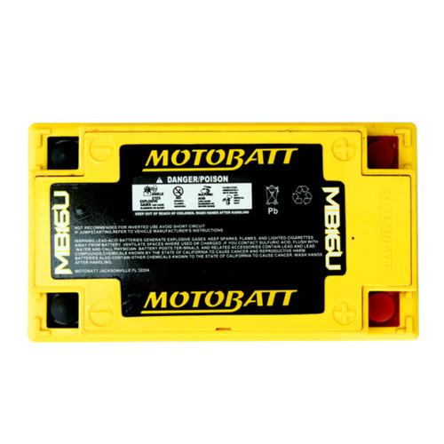 MotoBatt MB16U Replaces YB16B-A, YB16B-A1, YB16B-A2