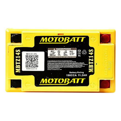 MBTZ14S MotoBatt Battery Replaces YTZ14S and YTZ12S