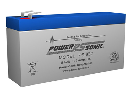 ROSS PRODUCTS FLEXIFLO QUANTUM BATTERY PS-832